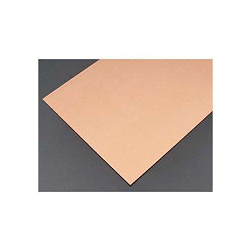 K&S Precision Metals 01217 Kupferblech-Rack, 0,063,5 cm Dicke x 15,2 cm Breite x 30,5 cm Länge, 22 Gauge, 3 Stück pro Auto, hergestellt in den USA 22 Gauge Sheet