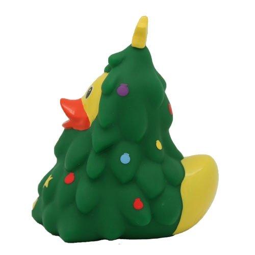 SET - LILALU® GUMMIENTE + #WORLD DUCK Schlüsselband   Feiertage   Geburtstage   Besondere Anlässe   Quietscheentchen, LILALU:Weihnachtsbaum Ente/1870