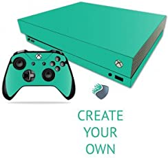 Create Your Own 3M Skin Decal Sticker For X Box One X Console & Two Controllers