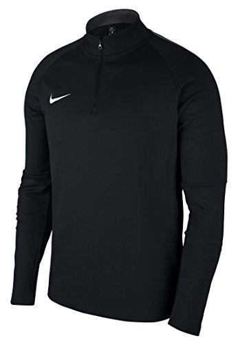 Nike Herren Dry Academy 18 Drill Football Top Long Sleeved T-Shirt, Black/Anthracite/White, XL - Academy-herren T-shirt
