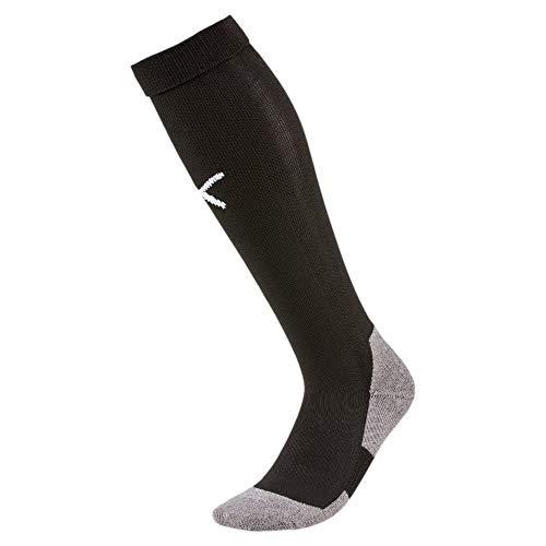 PUMA Herren LIGA Socks Core Stutzen Liga Socks Core, Puma Black-Puma White, 43-46 (Herstellergröße: 4)