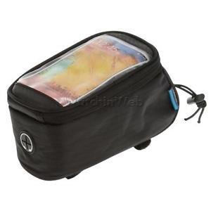 Alcoa Prime Bicycle Bike Cycling Tube Bag Bike 5. 5 Inch Touchscreen Phone Pouch - Black