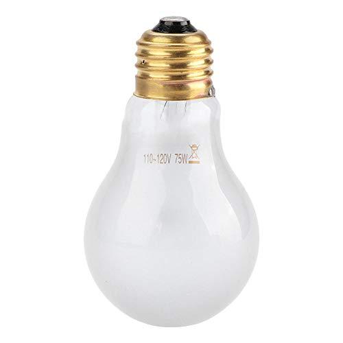 Bicaquu E26 110-120V 50W / 75W UVA Reptile Heat Light Lampe Wärmebirne für Reptile Pet Amphibian(02) -