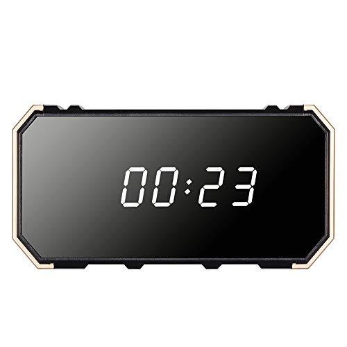 Neborn 4K Caméra 1080P WiFi HD Miroir Sans Fil Alarme de Sécurité avec Vision Nocturne Réveil...