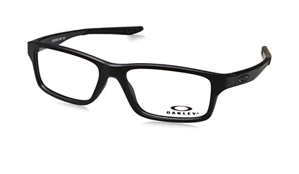 845d44071c6 Oakley Crosslink XS OY8002-01 (Youth Fit) Satin Black  Amazon.in  Clothing    Accessories