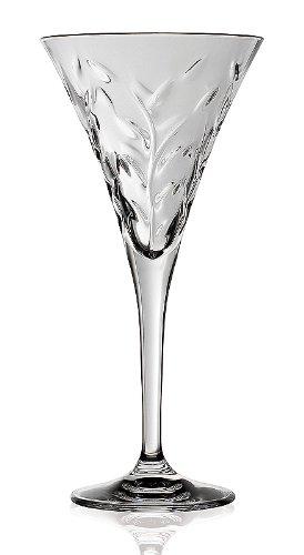 LORENZO RCR Crystal Laurus Collection Wasser Glas, Set von 6 Crystal Drinkware Collection