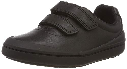 Clarks Rock Play T, Zapatillas para Niños, Negro Black Leather,...