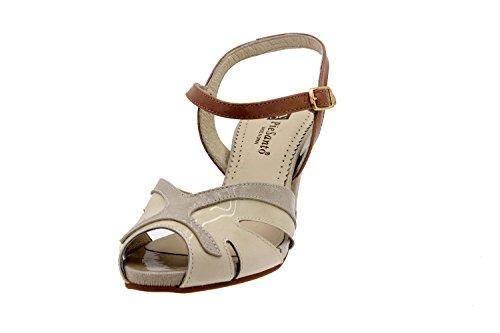 Scarpe donna comfort pelle Piesanto 2257 sandali di sera comfort larghezza speciale Terra