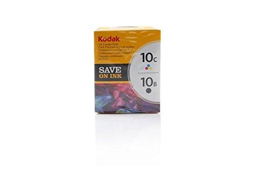Original Tinte passend für Kodak ESP 3200 Series Kodak 10B10C 8203374 - 2x Premium Drucker-Patrone - Schwarz, Cyan, Magenta, Gelb - 420 Seiten (Kodak 10b Drucker Tinte)