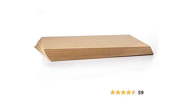 2,5 mm 10 St/ück MDF Platte Holzzuschnitt in 80 X 80 cm 800 X 800 mm