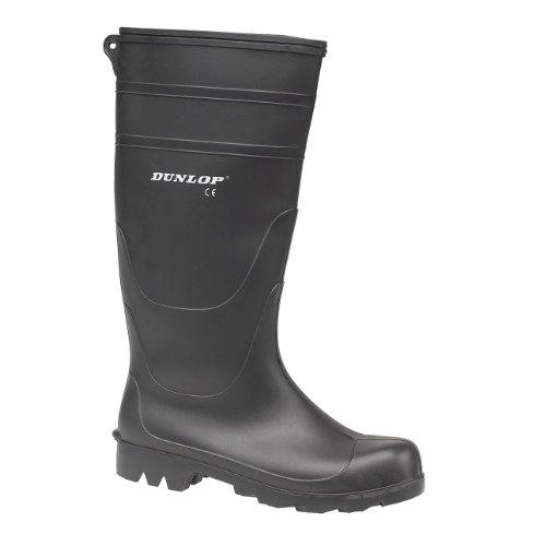 Dunlop - Stivali di Gomma - Uomo Nero