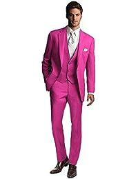 Amazon Fr Costume Rose Costumes Et Vestes Homme Vetements