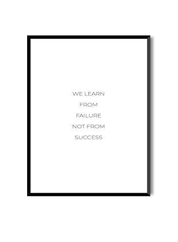 MILUKA Láminas enmarcar colección Mensajes | Failure