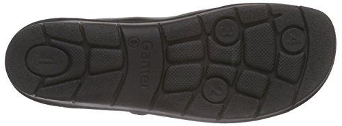 Ganter Florence, Weite F, Pantofole Donna Nero (schwarz 0100)