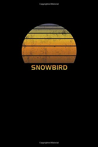 Snowbird: Utah Notebook With Lined Wide Ruled White Paper For Work, Home or School. Blank Notepad Journal For Skiing And Snowboarding Fans. Utah Ski Snowboard