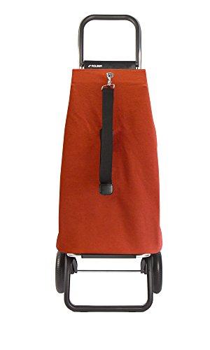 ROLSER Einkaufsroller LOGIC RG / ECOMAKU, MAK001, 41 x 32 x 105,5 cm, 52 Liter, 40 kg Tragkraft mandarina