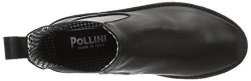 Pollini Pollini Shoes, Chaussons avec doublure froide femme Noir (000)