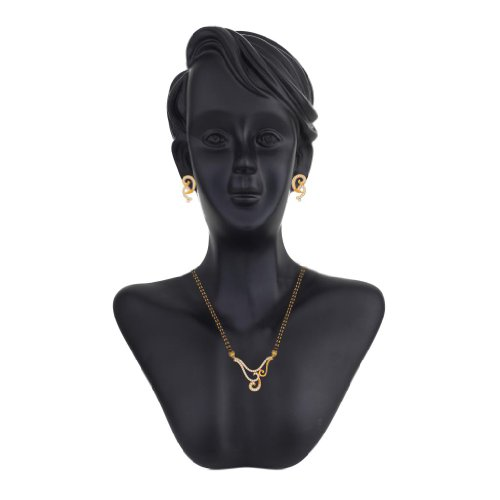 Peora Gold-Plated Mangalsutra  For Women Gold-PM53GJ