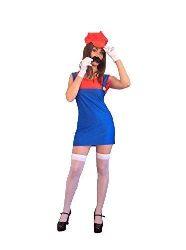 * NEW * Women's Mario or Luigi Costume - low price!