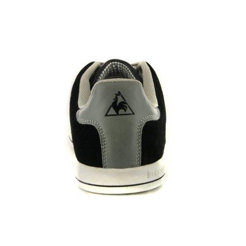 Herren Le Coq Sportif Schwarz Retro Sneaker Schuh Black