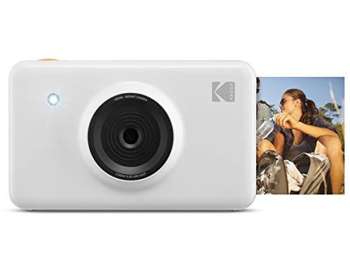 Kodak Mini Shot Wireless Sofortbild-Digitalkamera (Weiß) 2x3-Zoll-Druck mit patentierter 4-Pass-Drucktechnologie (Wie Sie Mit Amazon Instant Video)