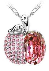 scorpius-gifts-gioiello-di-cristallo-strass-collana-mela-in-sacchetto-regalo-in-organza-gratis-rosa