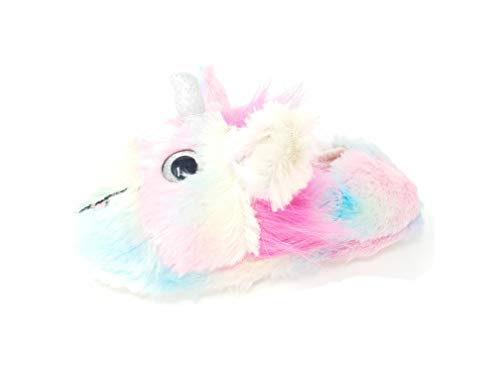 Carcassi Girls Multi Colour Sparkle Unicorn Slipper