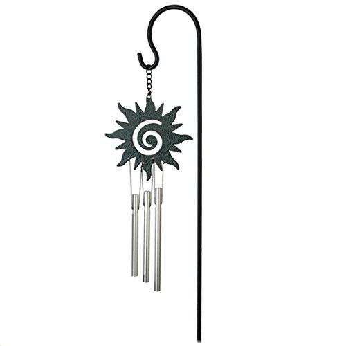 Metall Glück Glocke Kapelle Glocke Windspiel Windzargen Blumentopf Bonsai Dekor - Sonne