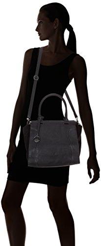 Gerry Weber Teardrop Shopper, Cabas femme Noir (Black 900)
