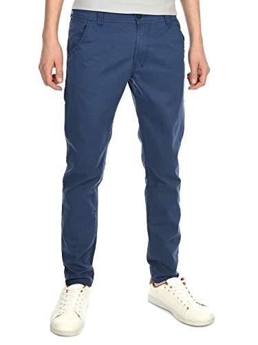 BEZLIT Kinder-Hose Jungen-Hose Chino-Hose Röhre-Hose Straight Fit Stretch RX 22871 Jeansblau 128
