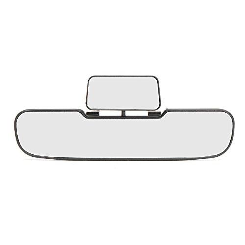 GOZAR Auto Van Weitwinkel Gebogenes Interieur Rückansicht Doppelspiegel Klar Linse