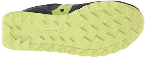 Saucony Jazz Original mixte adulte, suède, sneaker low Charcoal/Light Green