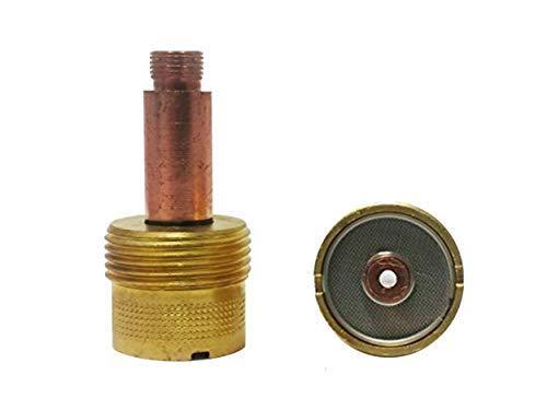 Gaslinse XL 2,4mm Ø für SR17 SR18 SR26 HP17 WP18 SR-26TIG/WIG Brenner (Jumbo Wig-brenner)