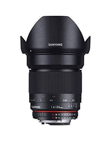 Samyang 24mm F1.4 Objektiv für Anschluss Sony Alpha