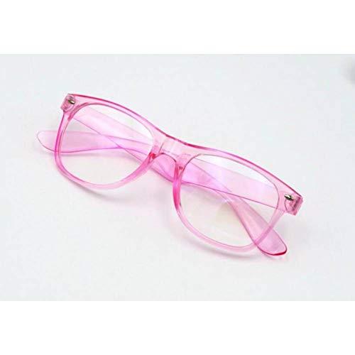 CAGSQ Sonnenbrillen Optische Blaue Beschichtung Anti-Strahlung Brillen Transparente Rahmen Vintage Computer Brillengestell Brillen