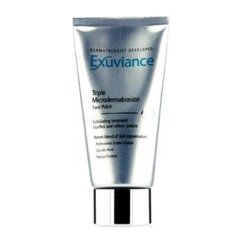 Exuviance 20074 Triple Microdermabrasion Face Polish, 75 g, weiß - Microdermabrasion Creme