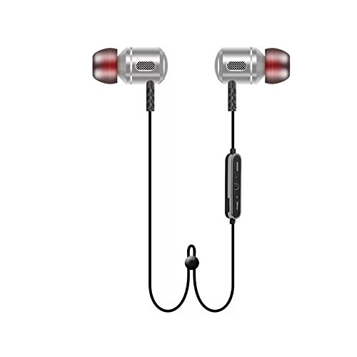 FREESOLO S8 Wireless Bluetooth 4.1 In-Ear Noice Isolating Sport Earbuds with Mic and Controller, Sweatproof , Designed for Driving, Jogging , and Gym. Compatable for all Bluetooth Smartphones, iPod, iPhone and iPad