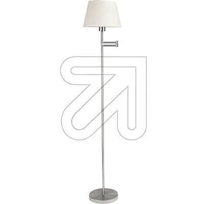 Paulmann 79381 Living Helena Stehleuchte max.1x60W E27 Nickel satiniert/Weiß 230V Metall/Stoff von Paulmann Leuchten auf Lampenhans.de