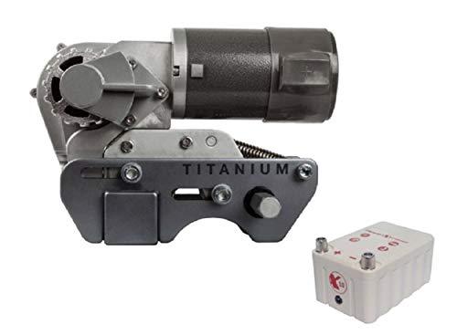Titanium Xtreme X10 Rangierhilfe mit Batterie für Wohnwagen, Mover mit Batterie, Einparkhilfe