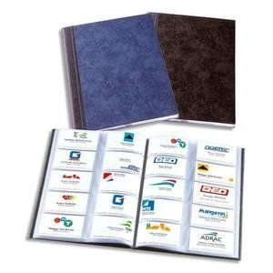 Elba Elégance - Álbum para tarjetas de visita (A4, para 400 tarjetas), color negro