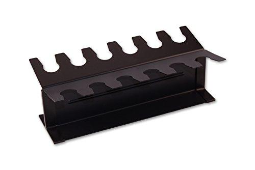 Stempelhalter aus Metall / für 12 Stempel / Farbe: schwarz