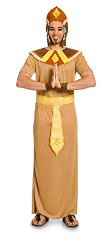 Folat 63352 63352-Kostüm Ägypter für Erwachsene, 5-teilig, Hellbraun, M/L
