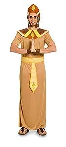 Folat 63353-Disfraz Egipcios para Adultos, 5Piezas