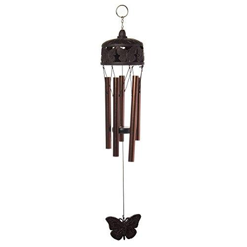 Russco lll wc109538Öl eingerieben Schmetterling Windspiel, Bronze - Corinthian Bells