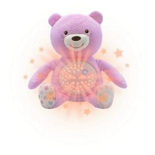 Chicco First Dreams Baby Bär Night Projektor-Pink.