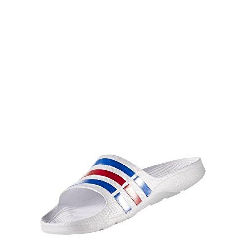 adidas Unisex-Erwachsene Duramo Slide Dusch-& Badeschuhe Mehrfarbig
