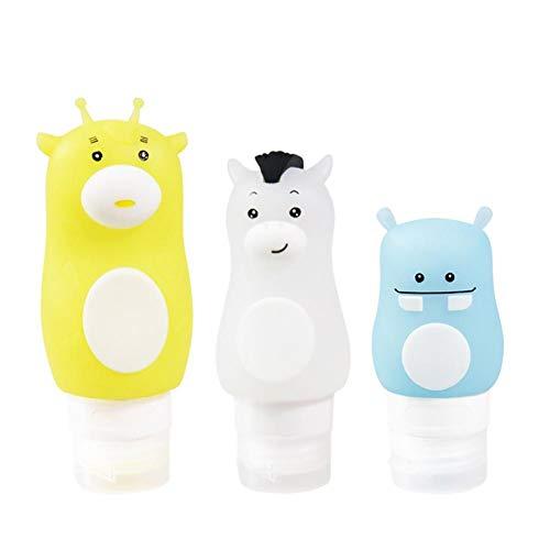 Oshide Reiseflaschen Set Silikon Flasche Tragbare Dicht Kosmetische Silikon Container Shampoo Duschgel Flasche Lotion Kosmetische Flasche