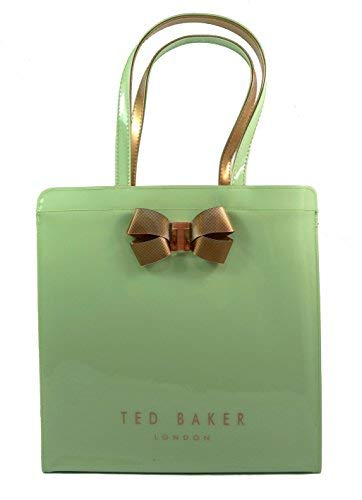 Ted Baker Vallcon Bow Detail Large Icon Bag - Olive