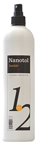 Nanotol Sanitär 1+2, Hybrid Sanitärreiniger mit Lotuseffekt, NS21-5 (500 ml) -