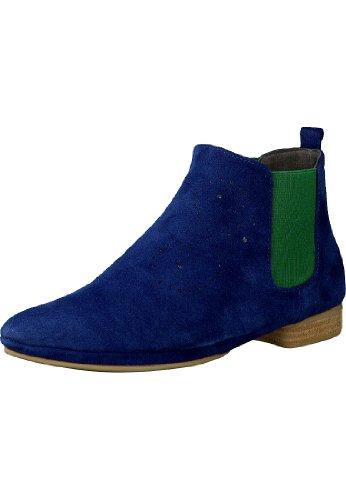 Marc Shoes 1.432.11-29/372-Pippa 1.432.11-29/372-Stivali Chelsea di pelle per donna blu Size: 38